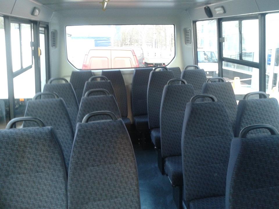 пассажирский автобус газель