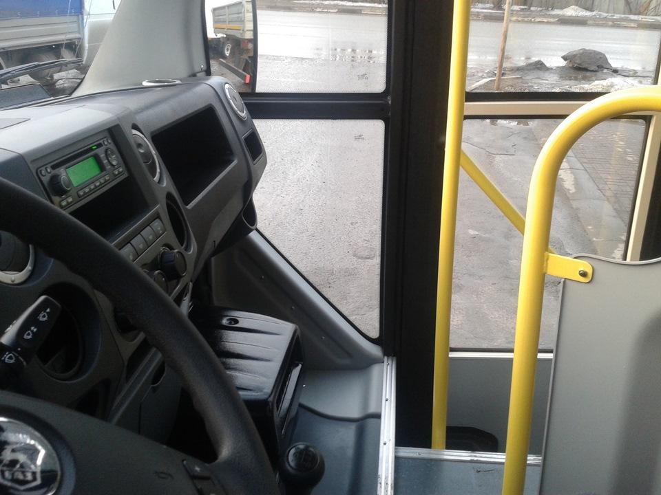пассажирский автобус газель next - Водительское место