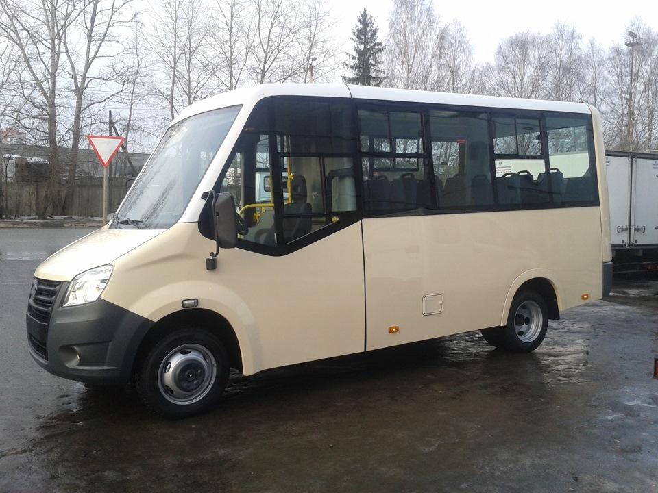 пассажирский автобус газель next