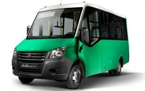 Рендер пассажирского автобуса Некст