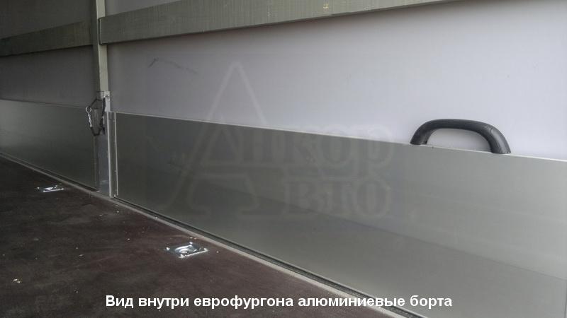 вид еврофургона алюминивые борта