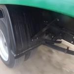 заднее колесо и подвеска
